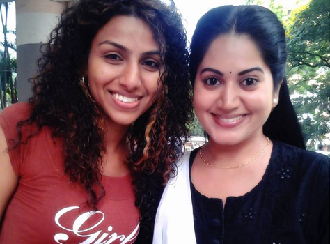 yaamini with kavitha